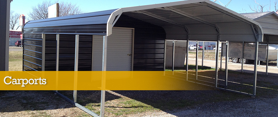 Portable Carport With Shed : Oklahoma carports and portable buildings