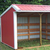 Oklahoma Horse Barns and Loafing Sheds