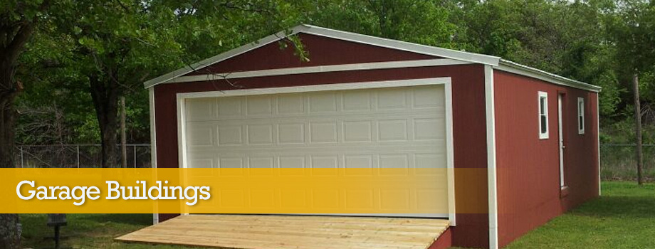 Custom Built Garage Buildings Oklahoma