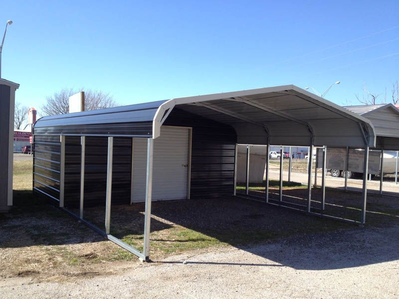 Oklahoma carports and portable buildings for Garages and carports