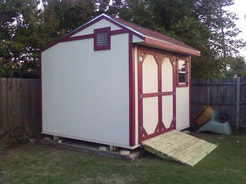 Oklahoma City, OK Portable Buildings and Backyard Storage Sheds