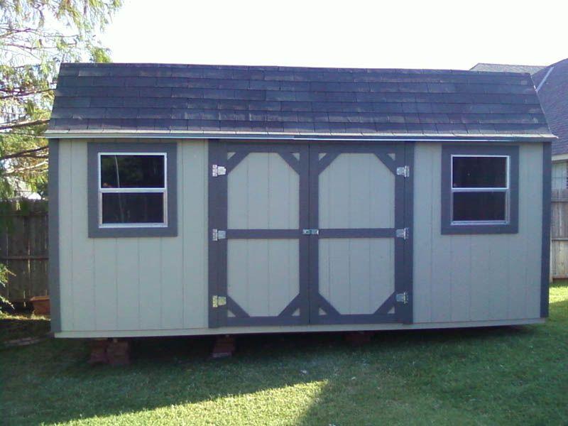 Oklahoma City Ok Portable Buildings And Backyard Storage